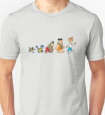 Hanna Barbera Evolution T-Shirt