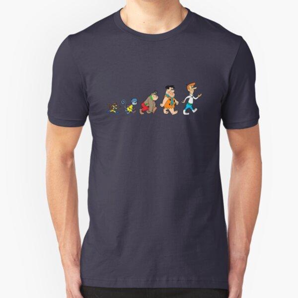 Hanna Barbera Evolution Slim Fit T-Shirt