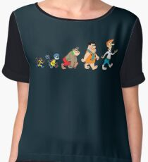 Hanna Barbera Evolution Chiffon Top