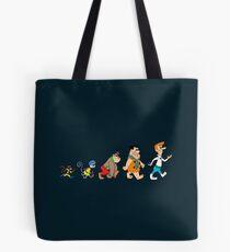 Hanna Barbera Evolution Tote Bag