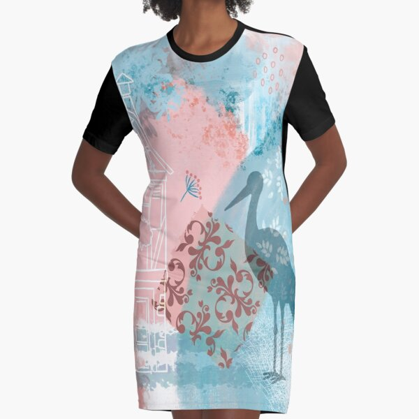 Create your Alsace Graphic T-Shirt Dress