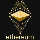 Ethereum Classic Made of Gold by Andrea Beloque
