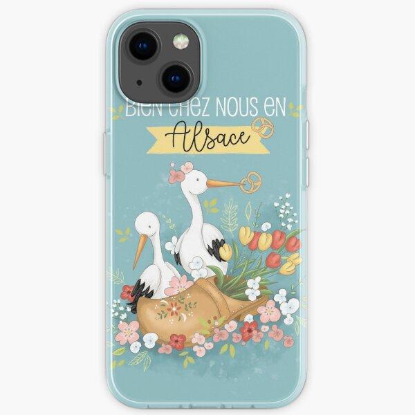 Bien chez nous en Alsace iPhone Soft Case