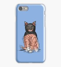 Periwinkle Pink Bat Cat  iPhone Case/Skin
