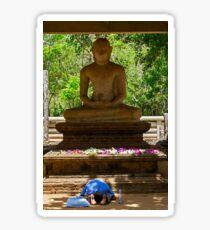 Samadhi Buddha. Sticker