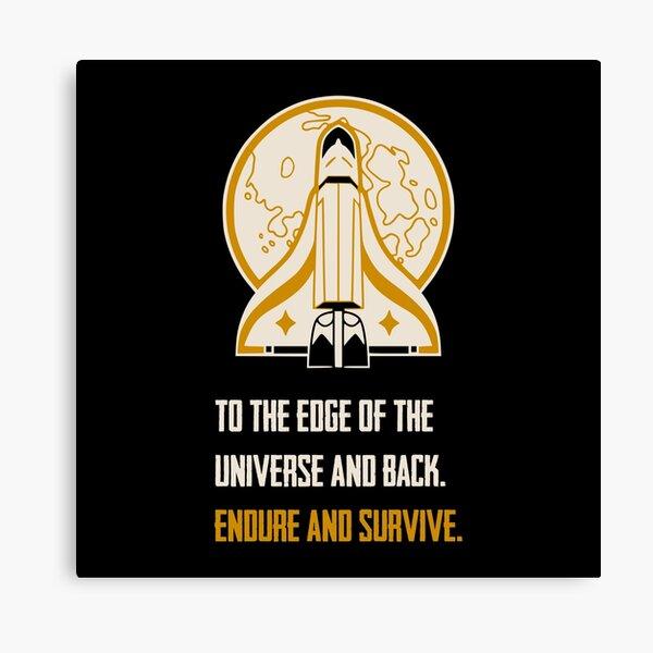 Ellie's Spaceship - Ellie Quote - TLOU Video Game - Fireflies Canvas Print