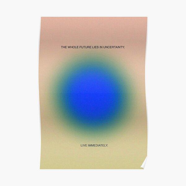 aesthetic aura poster  Poster