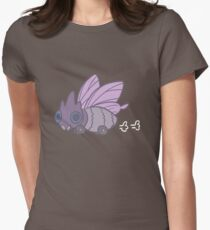 All-Terrain Venomoth Women's Fitted T-Shirt
