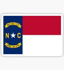 North Carolina Flag Sticker