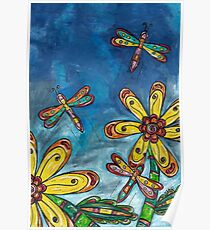 Dragonfly Free Poster