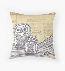 Owls 45 Throw Pillow