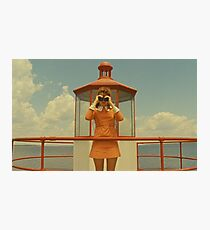 Moonrise Kingdom casttle Photographic Print