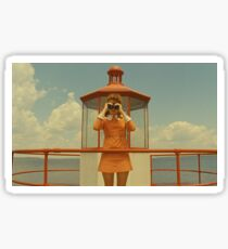 Moonrise Kingdom casttle Sticker