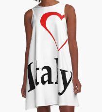 I Love Italy A-Line Dress
