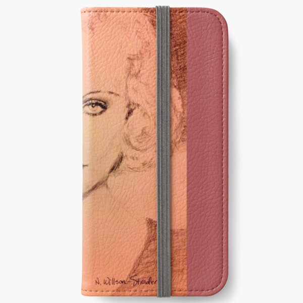 Carole Lombard iPhone Wallet