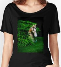 The wooden horse Women's Relaxed Fit T-Shirt