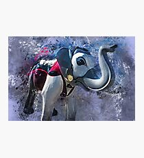 Elephantom #1 Photographic Print