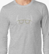 Larry David Icon Silhouette - Curb Your Enthusiasm/Seinfeld Long Sleeve T-Shirt