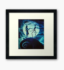 The nigtmare before christmas Framed Print