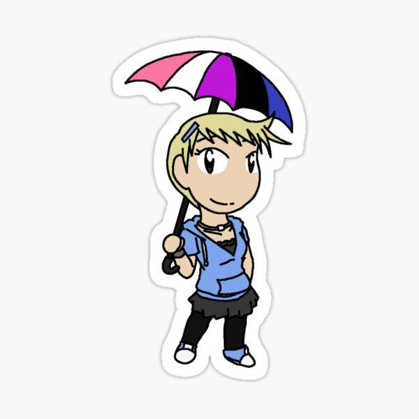 RAIN - Chibi Ky 2 Sticker