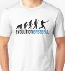 Baseball Evolution Of Man T-Shirt