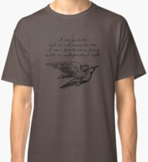 Jane Eyre - I Am No Bird Classic T-Shirt