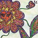 Freya the Flower Lady by kewzoo