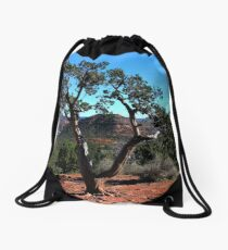 Scenic View in Sedona, Arizona Drawstring Bag