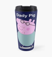 daddy pig Travel Mug