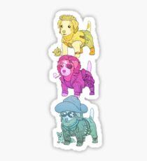 KURT RUSSELL TERRIER Sticker