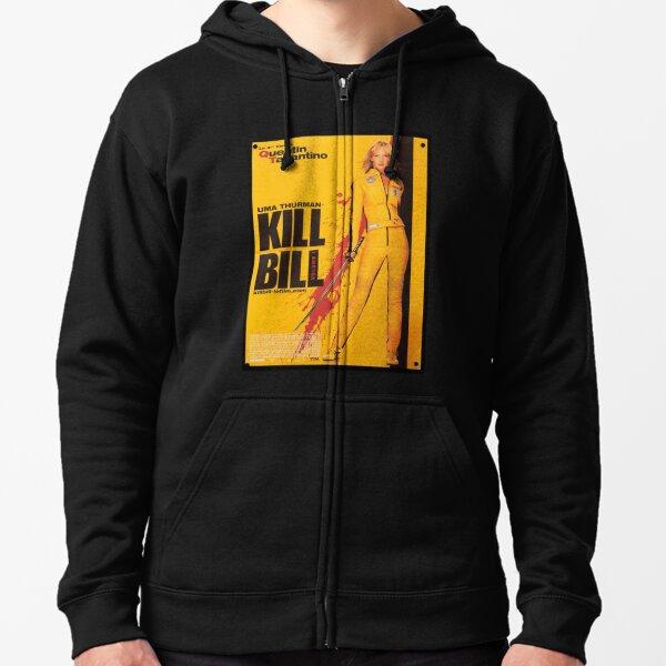 Kill Bill Concept Art Zipped Hoodie