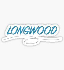 Longwood Script 2 Sticker