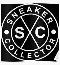 Sneaker Collector - White Poster