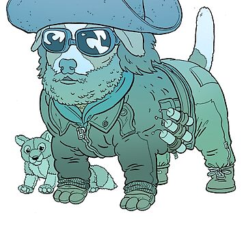 KURT RUSSELL TERRIER - THE THING by UlisesFarinas