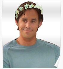 Xander Harris - Flower Crown Poster