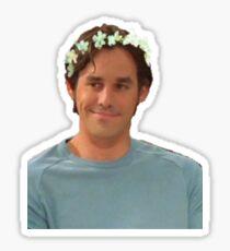 Xander Harris - Flower Crown Sticker