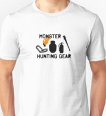 Monster Hunting Gear - Stranger Things T-Shirt