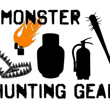 Monster Hunting Gear - Stranger Things by tziggles