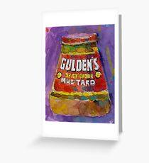 Gulden's Spicy Brown Mustard Greeting Card