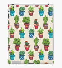 Cactus Pot Plant Garden iPad-Hülle & Klebefolie