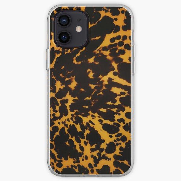 polished tortoise shell art deco phone case iPhone Soft Case