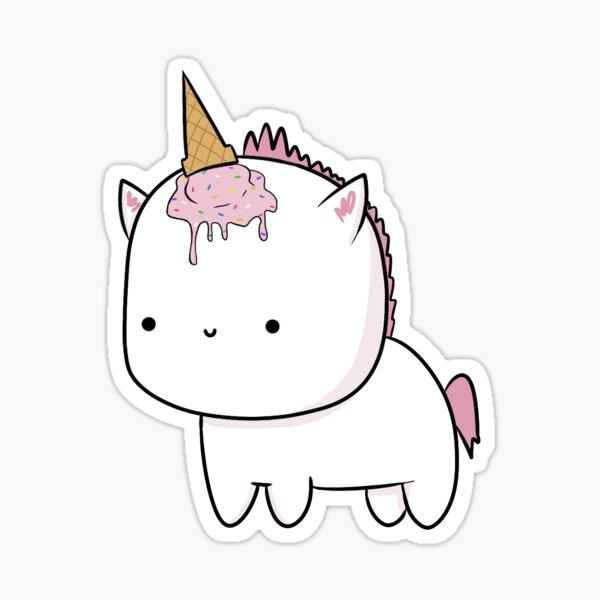 "Pink ""Unicorn"" Sticker"