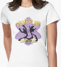 Vintage Powerline Concert Logo - A Goofy Movie Women's Fitted T-Shirt