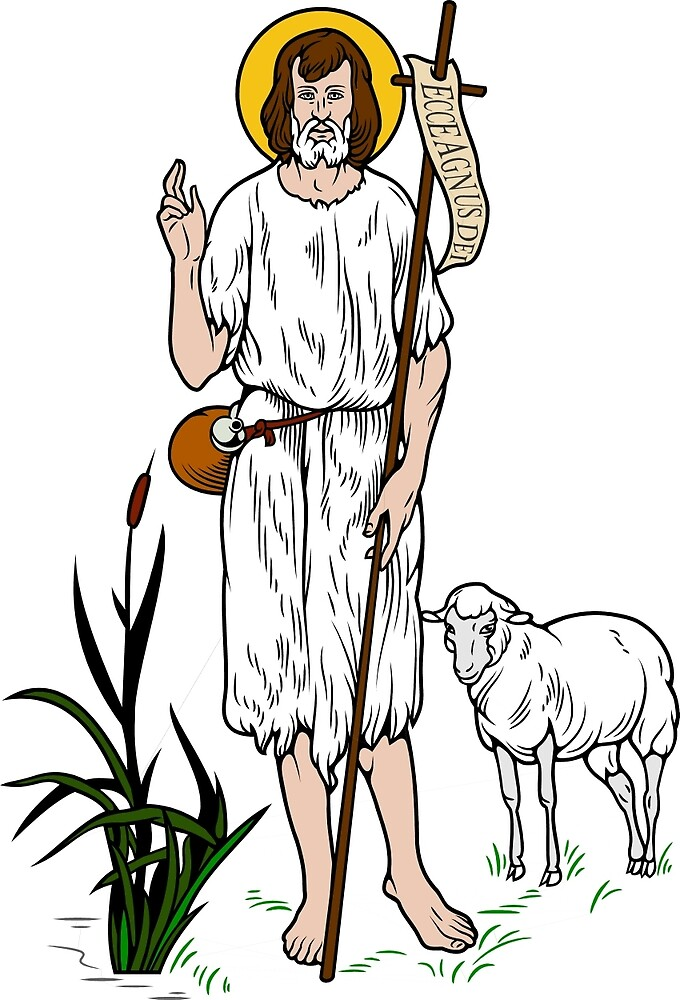 ST JOHN THE BAPTIST by CatholicSaints