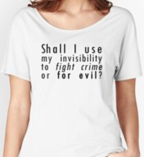 invisibility Women's Relaxed Fit T-Shirt
