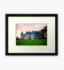 Chateau de Chaumont Framed Print