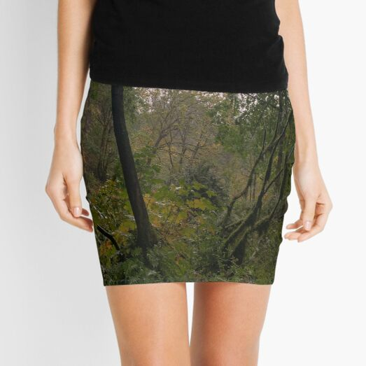 Forest in Oregon Mini Skirt