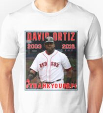 Red Sox #THANKYOUPAPI 34 - David Ortiz Unisex T-Shirt