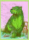 GREEN ALGAE BEAR by Ulises Farinas