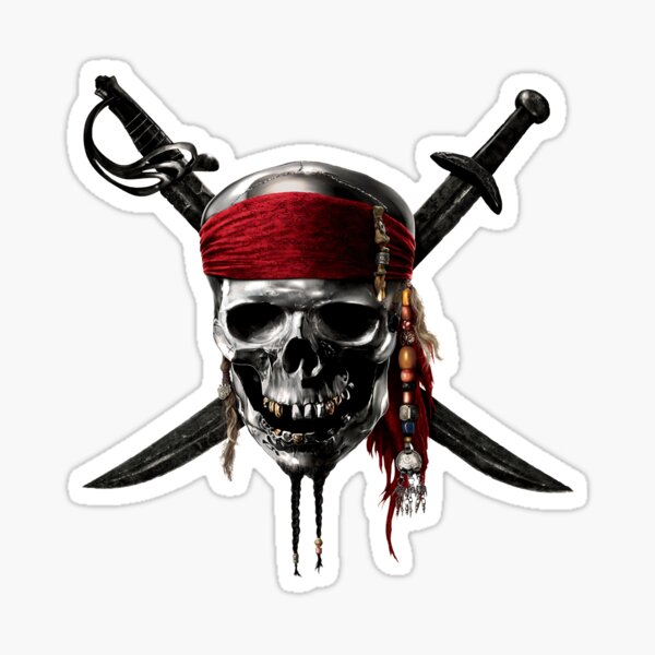 Pirates of the Caribbean Sticker